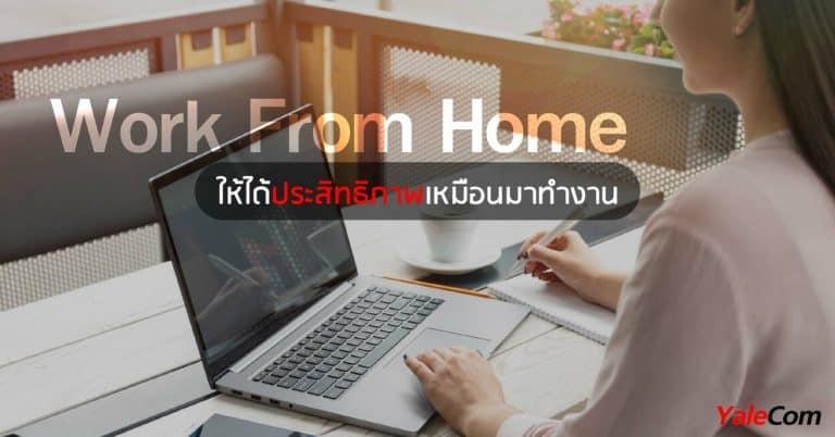 ระบบโทรศัพท์ที่เหมาะกับ Work From Home yalecom ระบบโทรศัพท์ ระบบโทรศัพท์ที่รองรับการทำงาน From Home เพื่อให้ได้ประสิทธิภาพสูงสุด Work From Home yalecom 768x402